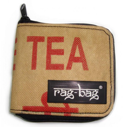 Upcycling Teabag Wallet © ragbag