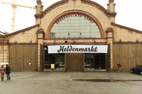 Bockenheimer Depot als Veranstaltungsort für den Heldenmarkt in Frankfurt