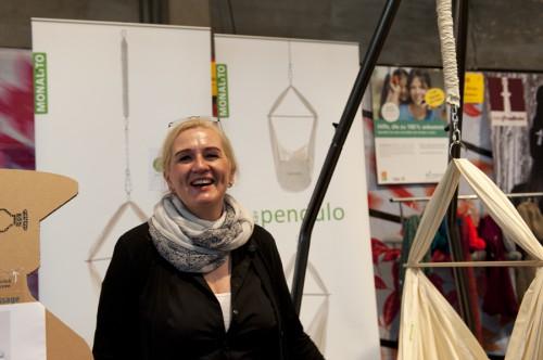 Romana Proch von Monalito auf dem Heldenmarkt Frankfurt 2013