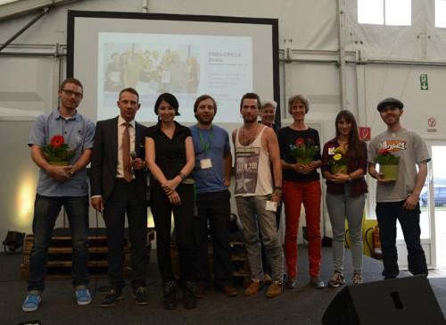 Gewinner des Frei-Cycle Preises 2014 sowie Veranstalter und Juroren